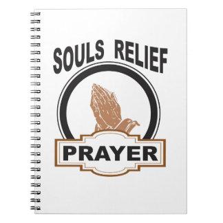 Caderno Espiral alivio das almas
