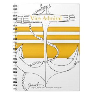 Caderno Espiral almirante vice do ouro, fernandes tony
