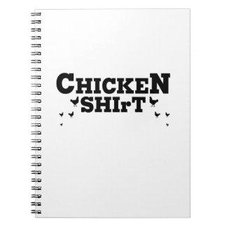 Caderno Espiral Amante do animal de estimação das galinhas