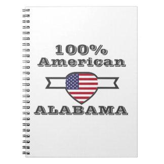 Caderno Espiral Americano de 100%, Alabama