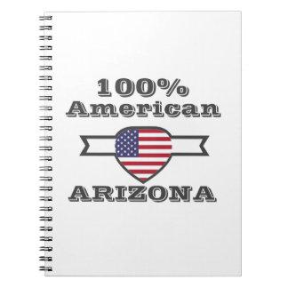 Caderno Espiral Americano de 100%, arizona