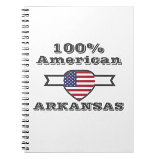 Caderno Espiral Americano de 100%, Arkansas