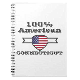 Caderno Espiral Americano de 100%, Connecticut