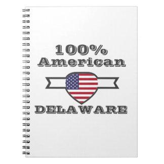 Caderno Espiral Americano de 100%, Delaware