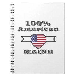 Caderno Espiral Americano de 100%, Maine