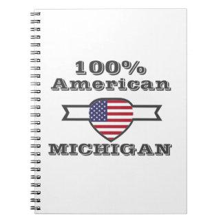 Caderno Espiral Americano de 100%, Michigan