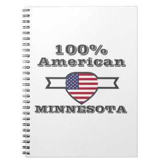 Caderno Espiral Americano de 100%, Minnesota