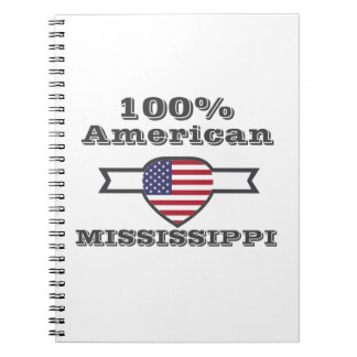 Caderno Espiral Americano de 100%, Mississippi