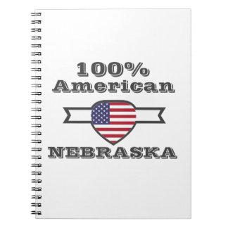 Caderno Espiral Americano de 100%, Nebraska