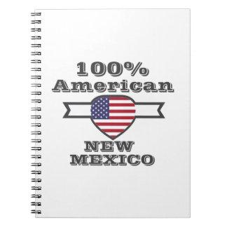 Caderno Espiral Americano de 100%, New mexico