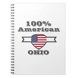 Caderno Espiral Americano de 100%, Ohio
