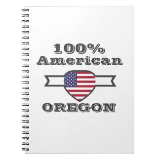 Caderno Espiral Americano de 100%, Oregon