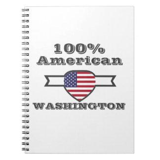 Caderno Espiral Americano de 100%, Washington