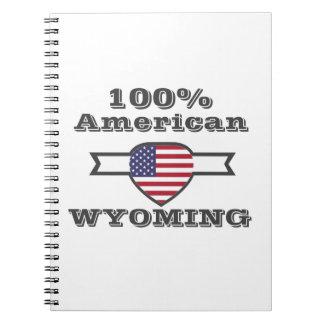 Caderno Espiral Americano de 100%, Wyoming