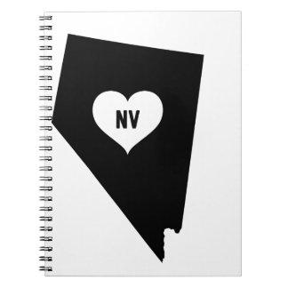 Caderno Espiral Amor de Nevada