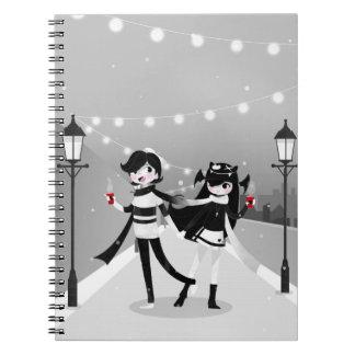 Caderno Espiral Amor do inverno