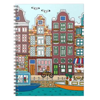 Caderno Espiral Amsterdão