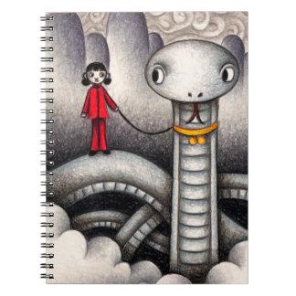 Caderno Espiral Animal de estimação bonito
