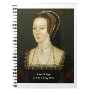 Caderno Espiral Anne Boleyn