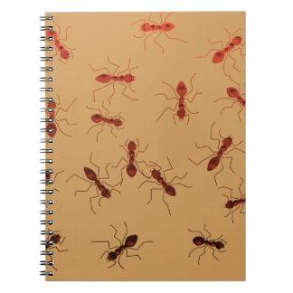 Caderno Espiral Antics. da formiga