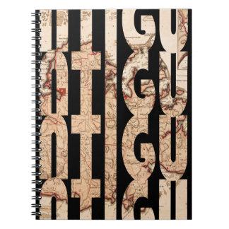 Caderno Espiral antigua1794