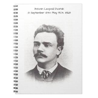 Caderno Espiral Antonin Leopold Dvorak 1868