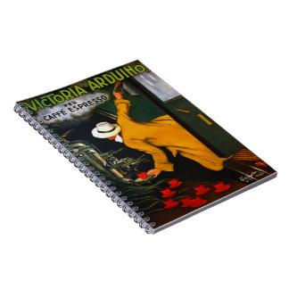 Caderno Espiral Anúncio 1922 do café
