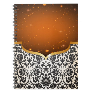 Caderno Espiral Arabian elegante