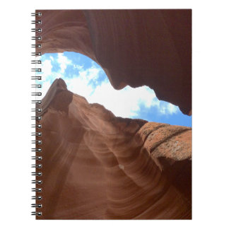 Caderno Espiral ARIZONA - garganta superior B do antílope - rocha