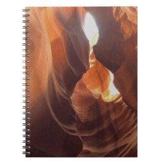 Caderno Espiral ARIZONA - garganta superior C do antílope - rocha