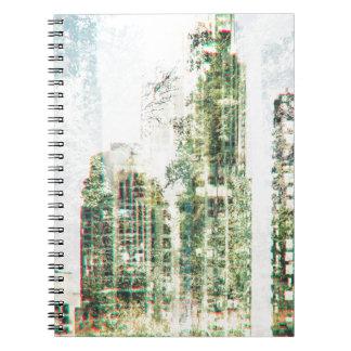 Caderno Espiral Arquitectura da cidade e floresta