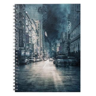 Caderno Espiral Arquitectura da cidade tormentoso