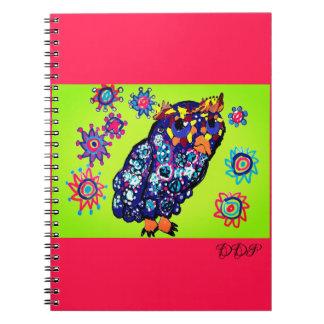 Caderno Espiral Arte 2 da coruja