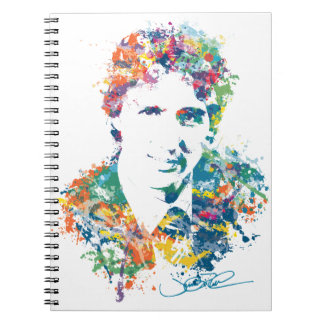 Caderno Espiral Arte de Justin Trudeau Digital