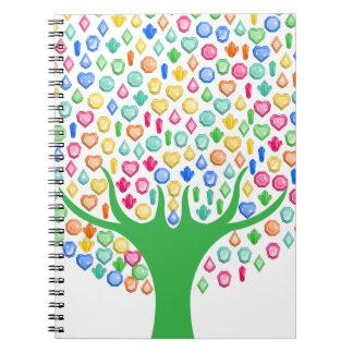 Caderno Espiral Árvore da gema