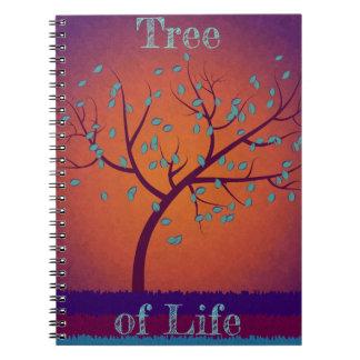 Caderno Espiral Árvore de vida