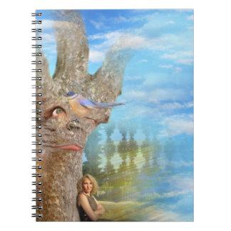 Caderno Espiral Árvore mal-humorada