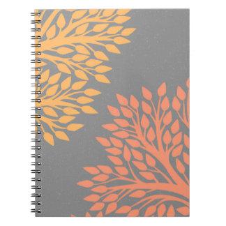 Caderno Espiral Árvores do outono