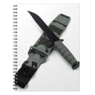 Caderno Espiral as forças armadas combatem um estilo transversal