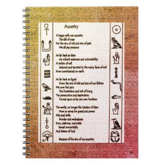 Caderno Espiral Ascendência