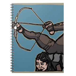Caderno Espiral AsianFeetArcher