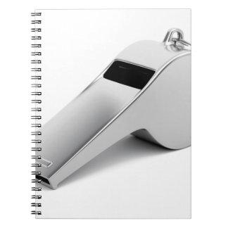 Caderno Espiral Assobio do árbitro