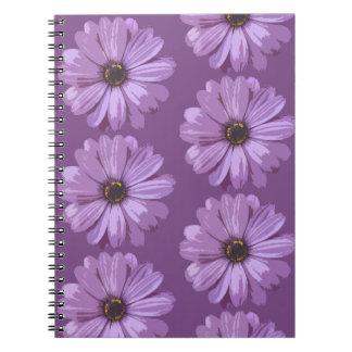 Caderno Espiral Asteraceae do Gerbera - livro da foto