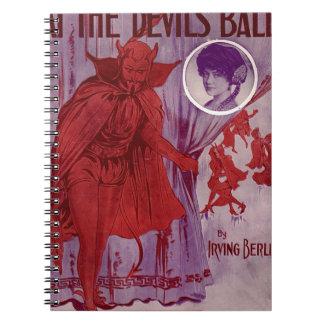 Caderno Espiral At_the_Devil's_Ball_
