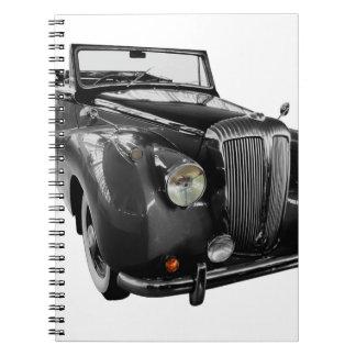 Caderno Espiral Auto carro do clássico do Oldtimer