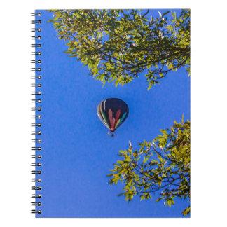 Caderno Espiral Balão de ar quente 2