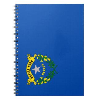 Caderno Espiral Bandeira de Nevada