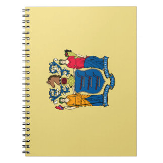 Caderno Espiral Bandeira de New-jersey