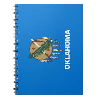 Caderno Espiral Bandeira de Oklahoma