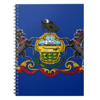 Caderno Espiral Bandeira de Pensilvânia